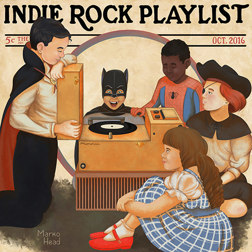Indie/Rock Playlist: October (2016)